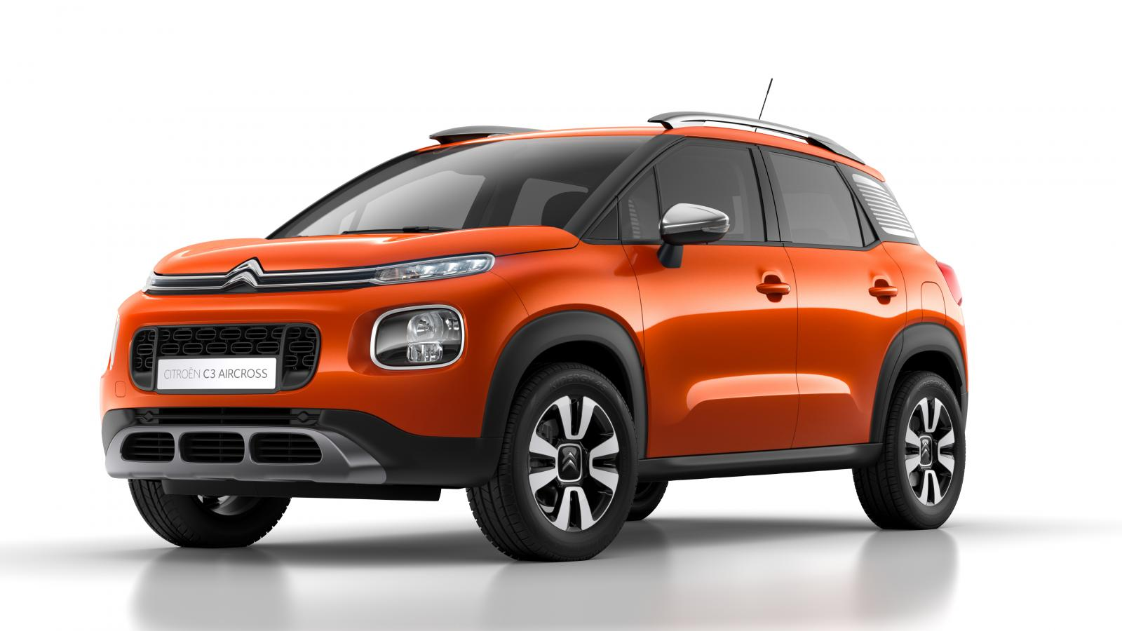 Compact SUV C3 Aircross - Power Orange