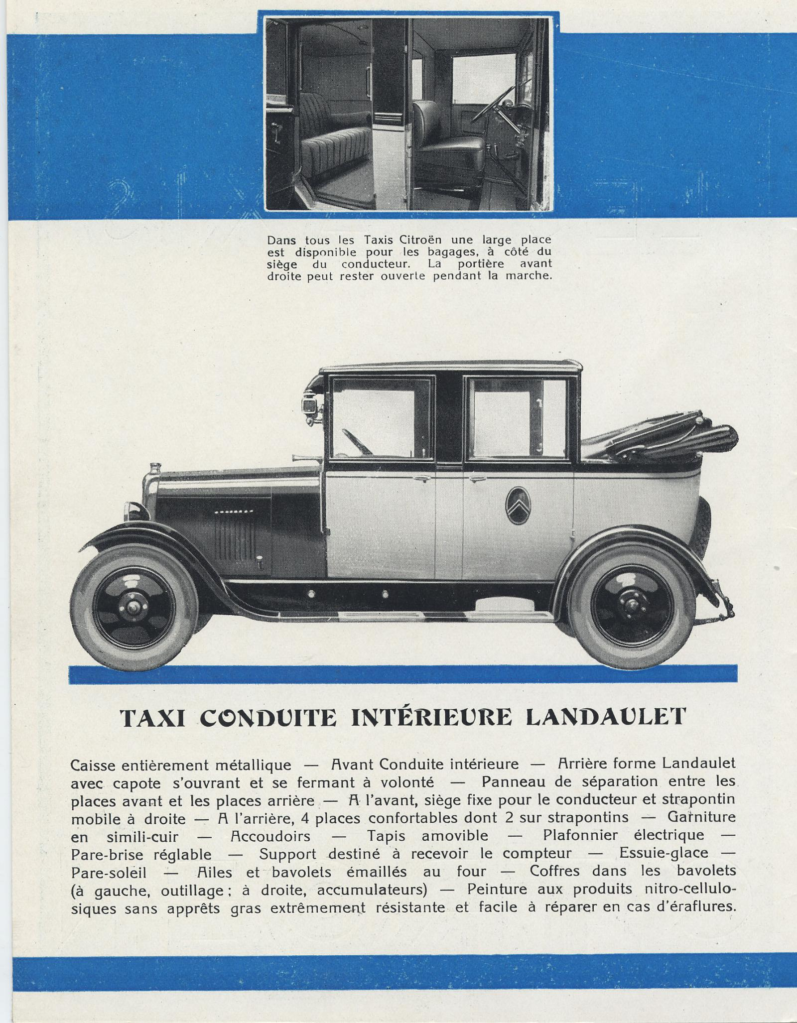 Broschüre Taxis 10 HP